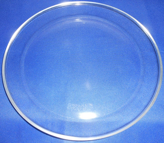 Pyrex Corning 12 Clear Pizza Plate Pan 212 Platter By