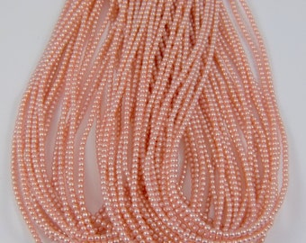 3mm Czech Glass Pearl - 70426 Pink x 300pcs