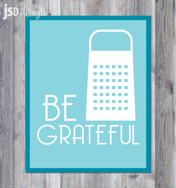 Be Grateful Kitchen Art: Items Similar To Kitchen Art / Spoonful Of Sugar, Be