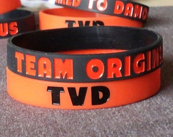 The Vampire Diaries Team Original Silicone Bracelet