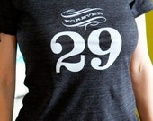 Forever 29 Womens Tshirt. Perfect 30th birthday gift, 29th birthday gift for women. Celebrate the last year of your 20's every year!
