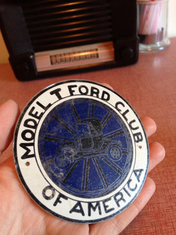 ford model t club of america metal emblem by emericksemporium. Cars Review. Best American Auto & Cars Review