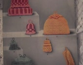 Original Patons and Baldwins Pattern No 3768. Tea and Egg Cosies.