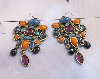 NEW Urban Signature Tribalis Multi Bead Earrings