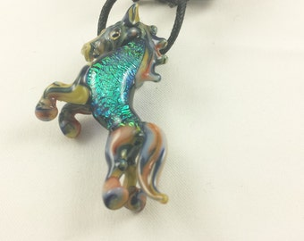 Horse - Glass Necklace