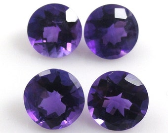 6mm Natural Amethyst Round Sale by Best in Gems (288)