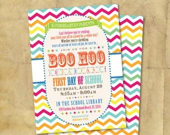 BOO HOO Breakfast Invitation / Digital / Printable