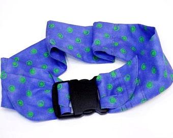Extra Large Dog Cooling Collar, Custom Pet Neck Cooler Cool Tie Gel Bandana, Select Size fits 24 - 32 inch neck, Made to Order iycbrand