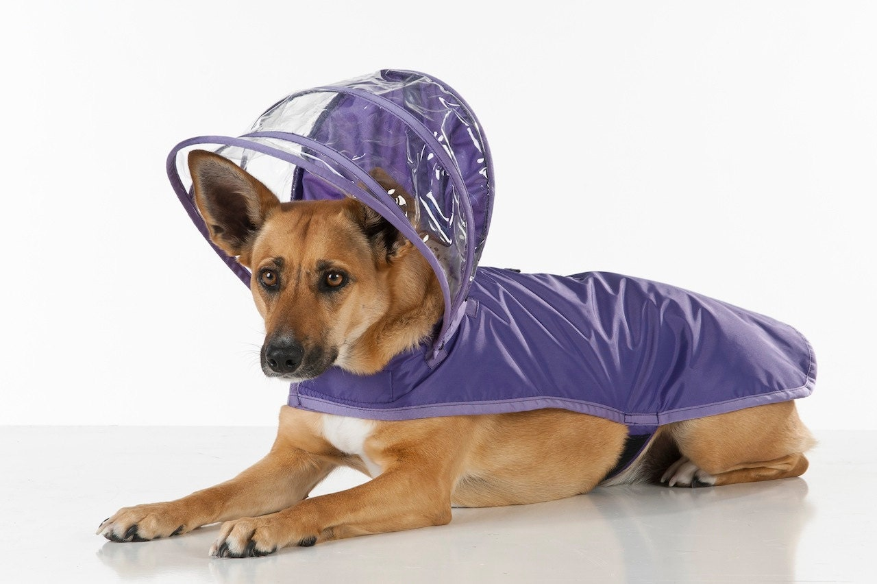 Top Quality Fashion Designed Hooded Large Size Dog Raincoat Puppy Pet Product Dog Raincoat Pet
