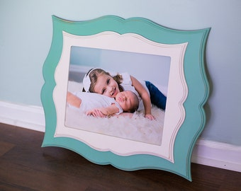 11x14 Double Stacked Custom Wood Frame