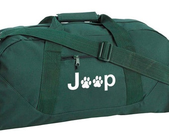 Jeep Paw Print Tote Bag