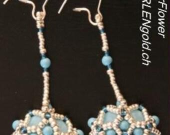 Tutorial: StarFlower - Earrings (English/German)