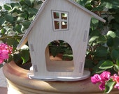 Birdhouse - Aviary - Bird feeder HEXE