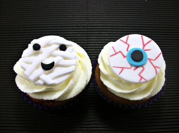 Halloween Cupcake Toppers Fondant Halloween Cupcake Cake Fondant