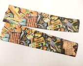 Graffitied sleeve