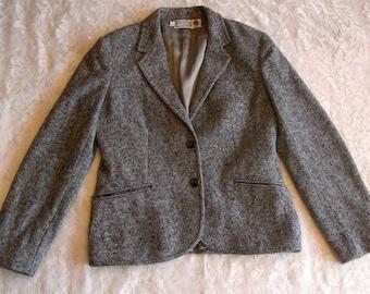 Vintage 50's Gray Tweed Jacket