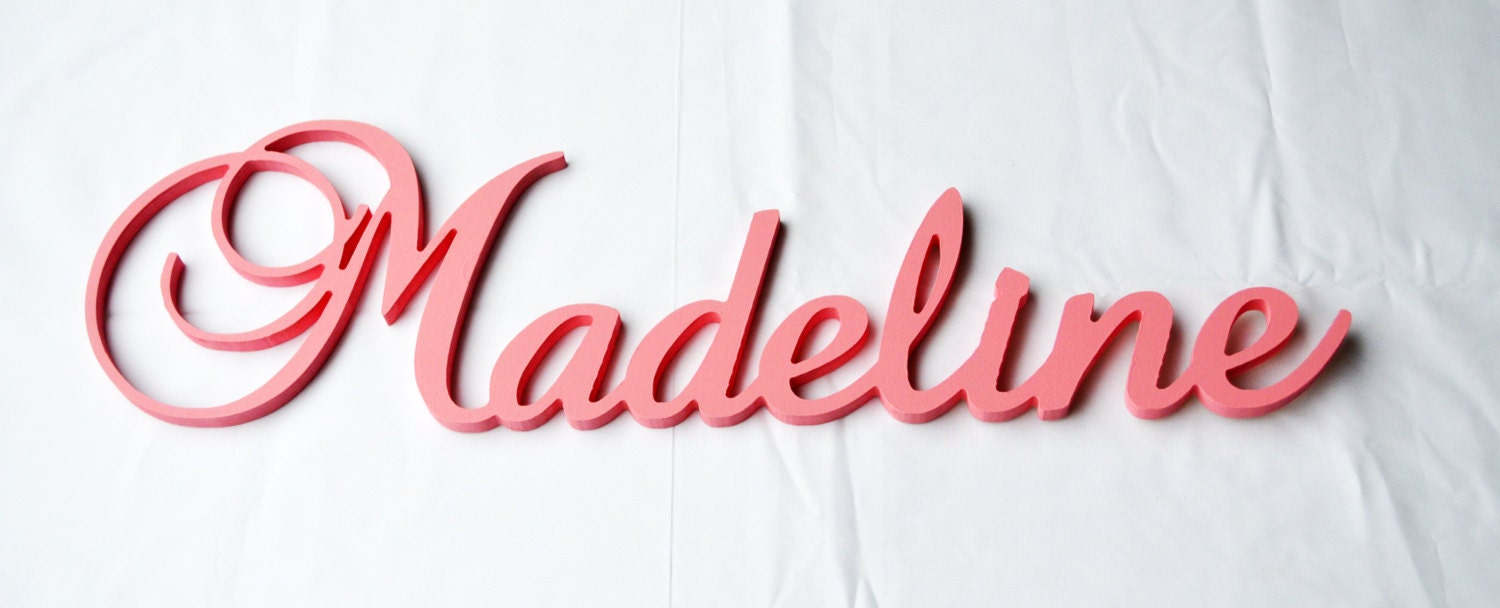 Name Plaque Wooden Name For Kids Or Baby Room Decor Kids