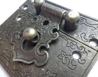 2Pcs 55mm x 47mm Vintage style small box hardware lock latch box latches box catches box hasp small clasp