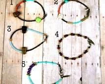 Handmade Boho Hipster bracelet.