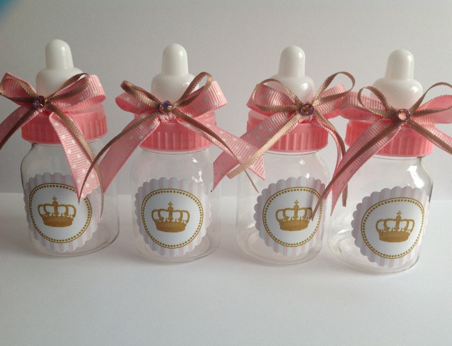 12 small 3 5 little princess baby shower favors pink