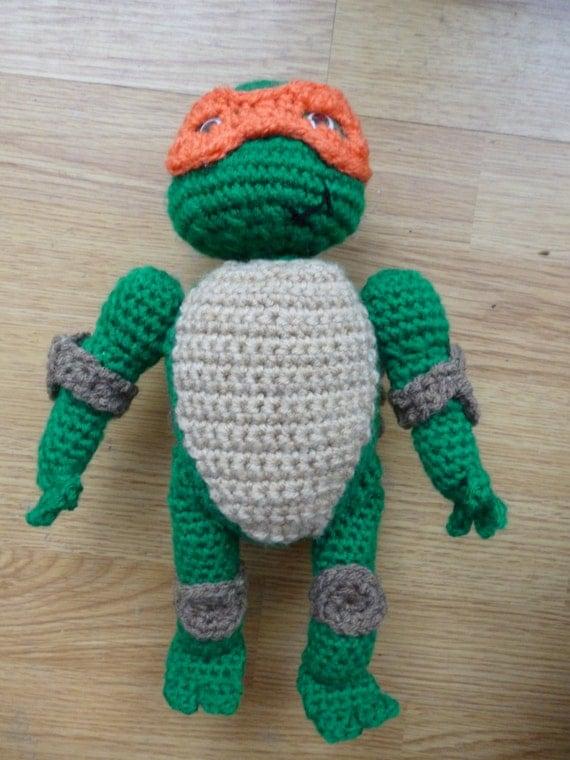 Ninja Turtle Crochet Amigurumi : Unavailable Listing on Etsy