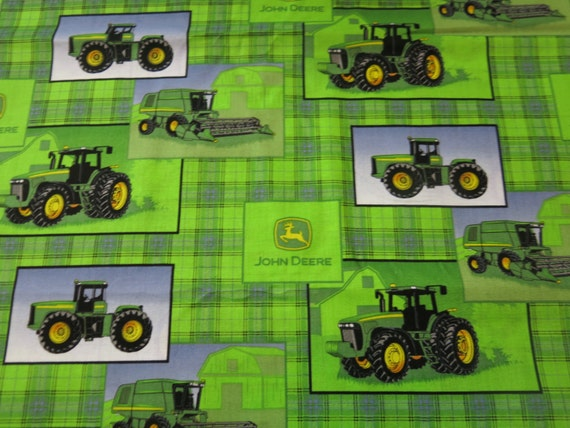 1 2 Yard Of 100 Cotton Quot John Deere Quot Fabric From