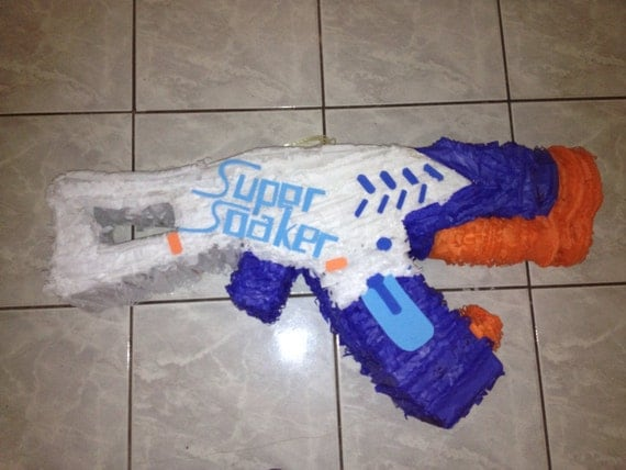 Super soaker pinata