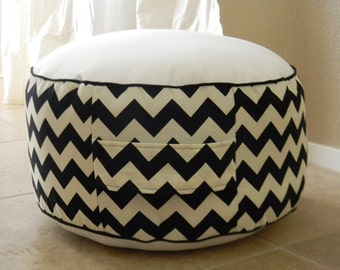 Custom Toddler Pouf- You Pick Fabric- Stuffed- Zipper Added- Floor Pouf Cushion-New Shop Added! Now offering Premier Prints