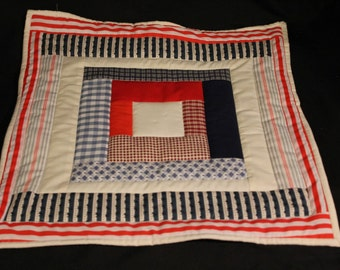 Improvisational Doll Quilt