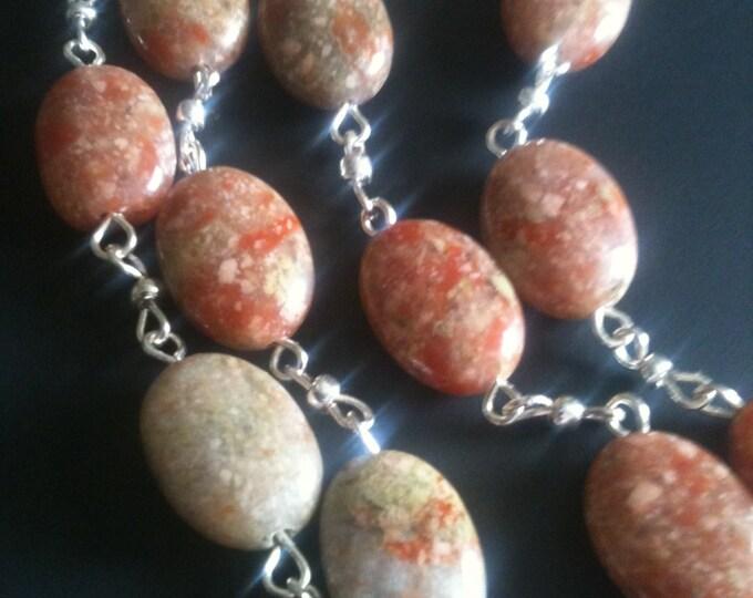 Autumn Jasper necklace