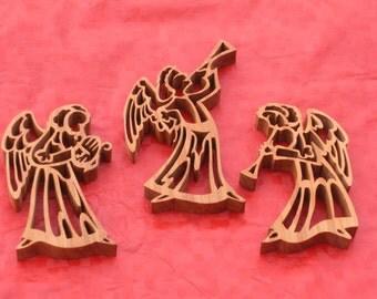 Hearlding Angels Ornaments