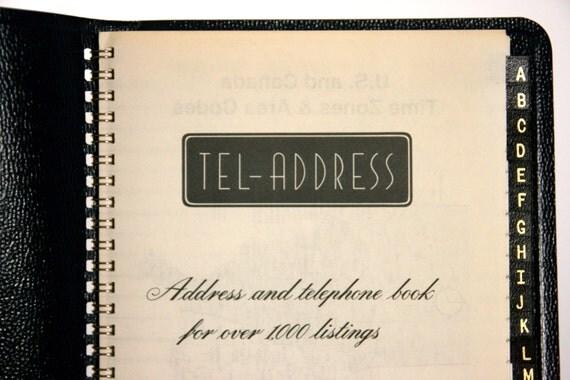 phone and address books