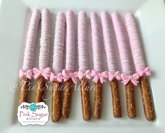 Items Similar To 1 Dozen Chocolate Covered Pretzels Rods
