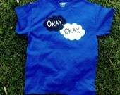 Hand Painted The Fault in Our Stars T Shirt