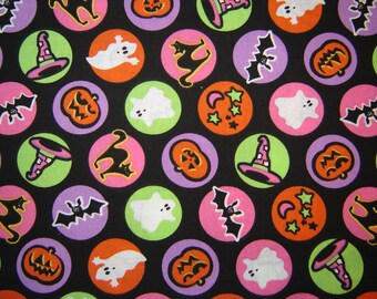 Per Yard, Halloween Fabric