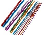 12 Sizes Multicolor Aluminum Crochet Hooks 2.0mm, 2.5mm, 3.0mm, 3.5mm , 4.0mm, 4.5mm, 5.0mm, 5.5mm, 6.0mm, 6.5mm, 7.0mm, 8.0mm
