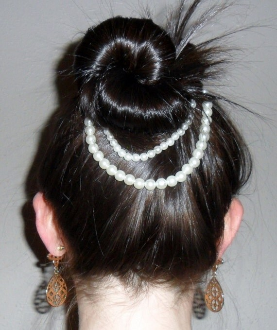 Bridal Hair Accessories For Buns : Rosalie bun accessory wedding hair