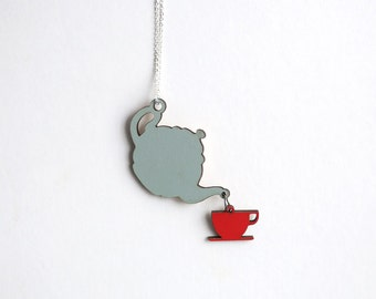Cuppa Tea Necklace