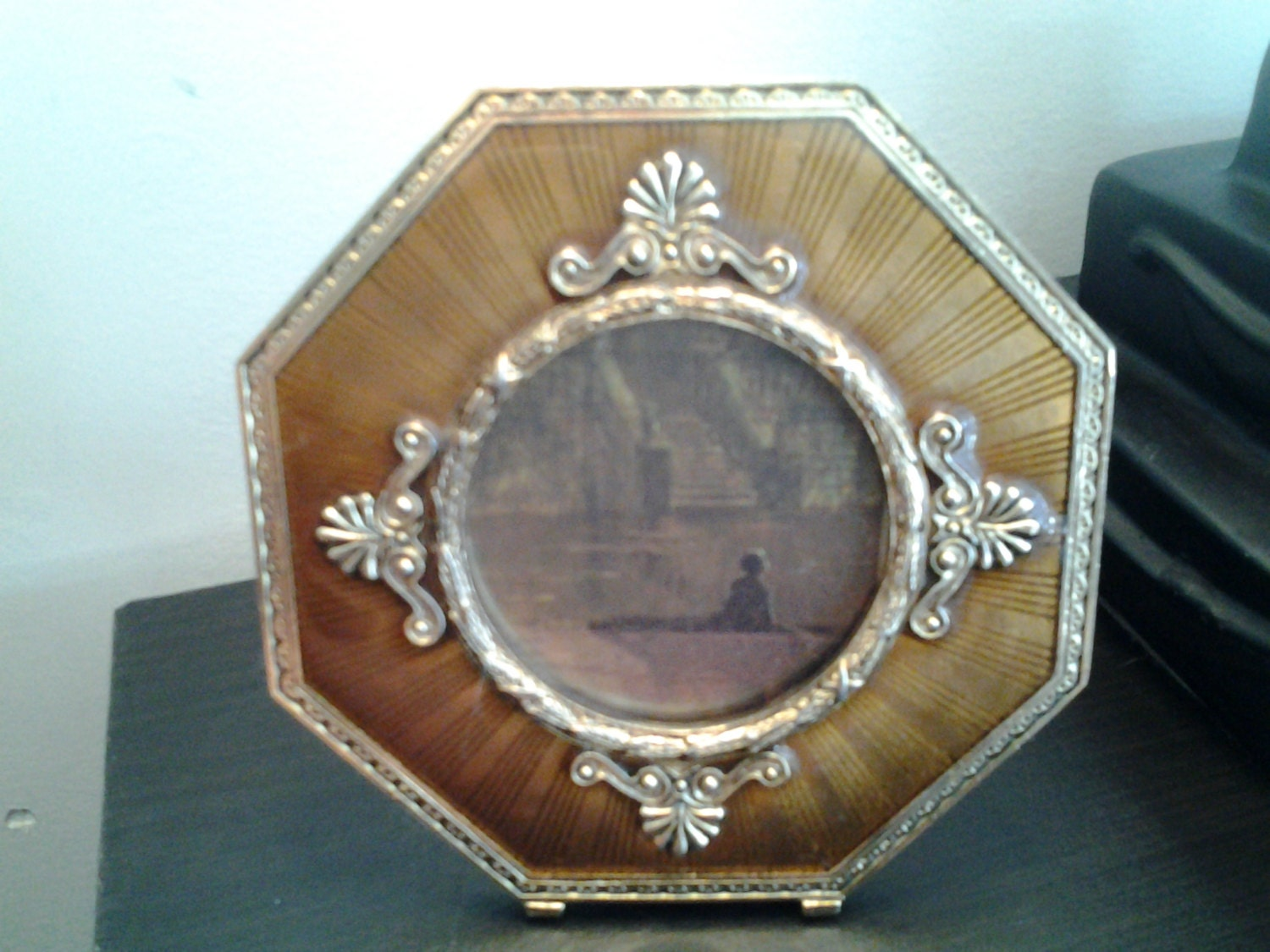 Vintage Golden Picture Frame From Thejunkemporium On Etsy