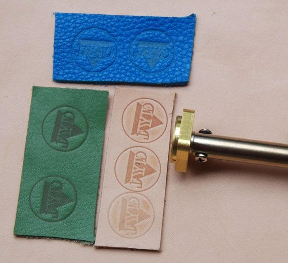 Diy Heat Embossing Leather: Heat Emboss Leather Tools Custom Leather Stamp Branding