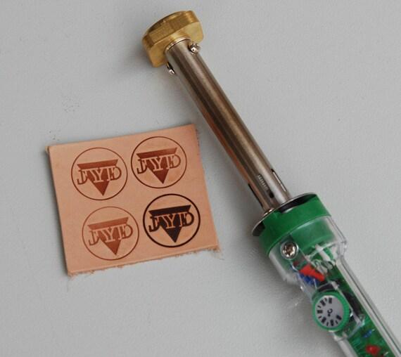Diy Heat Embossing Leather: Custom Leather Stamp/Heat Embosser/Embossing / By