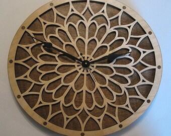 Notre Dame wooden clock kit