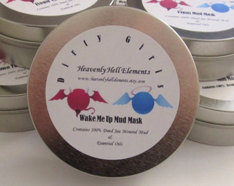 Wake Me Up Dead Sea Mineral Mud Mask Dirty Girls