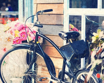Dreamy Vintage Bike, Old Classic Bicycle, Sweet Photography