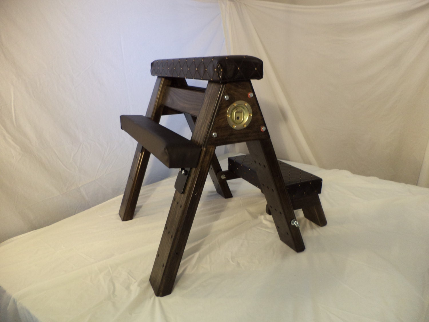 Bdsm Spanking Bench With Kneeler And Arm Leg Rests