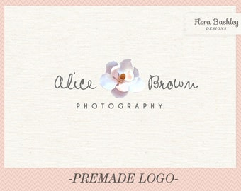 Custom Logo Design and Watermark - Premade  FB033