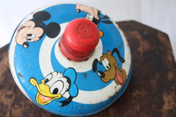 Popular Toys In 1973 : Vintage walt disney top spinning toy by chein