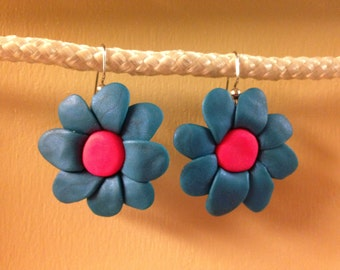 Polymer Flower Earrings
