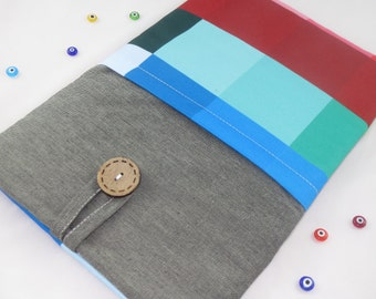 """13 inch MacBook Case,13"""" MacBook Air Case, Laptop Sleeve for 13""""Ultrabooks Custom Size,Padded Laptop Sleeve Cover-Patchwork"""
