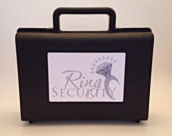 Ring Bearer Gift, Ring Bearer Briefcase, Ring Security Case, Ringbearer Case, Ring Bearer Pillow Alternative, Ring Security Agent